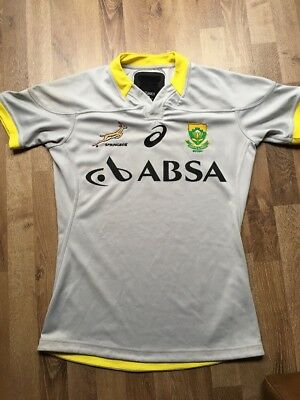 South Africa Rugby Official training Jersey. Player Issue. Size M. Springboks