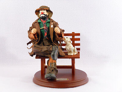 """Big Business 2 - Emmett Kelly Jr. """"REAL RAGS"""" Fabric Mache Collection"""