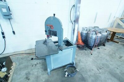 Roll In Vertical Band Saw Single Phase. Nice Shape Doall Jet Grob