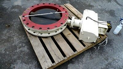 """Townley Mfg Series 120 B7V 24"""" Butterfly Valve, 3500 Actuator & Pmw Controller"""