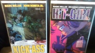 US KICK ASS 2018 # 1 und HIT-GIRL # 1 (MARK MILLAR, JOHN ROMITA JR. U.A.) IMAGE