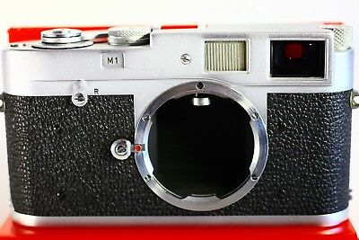 Leica M1 Camera Nice And Collectible