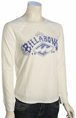 Billabong Tribal Logo LS Women's T-Shirt - Cool Wip - New