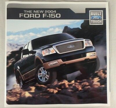 2004 Ford Truck F-150 Dealership Sales Brochure Catalog 45 Pages