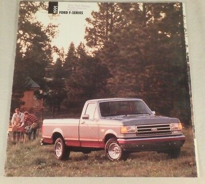 1991 Ford F-Series Pick-Up Truck Dealership Sales Brochure Catalog 25 Pages