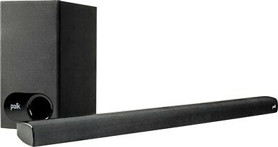 Polk Audio Signa S1B Sound Bar With Bluetooth Wireless Sub System