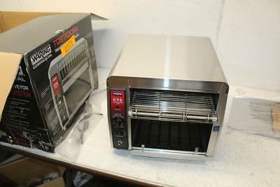 Waring 120V 1800W Compact Conveyor Toasting System CTS1000