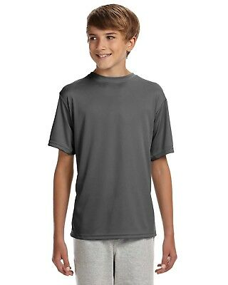 A4 Unisex Kids Cooling Performance Tee NB3142 S-XL