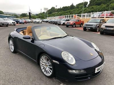 2005 Porsche 911 Convertible 3.8 997 Carrera 2 S 355Hp 6 Speed Manual Met Blue