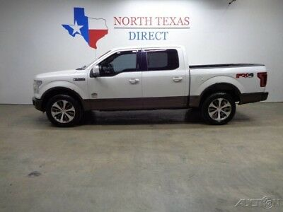 Ford F-150 King Ranch 4WD GPS Navi Camera Pano Roof Heat Cool 2015 King Ranch 4WD GPS Navi Camera Pano Roof Heat Cool Used Turbo 3.5L V6 24V