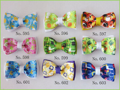 "1000 BLESSING Good Girl Boutique 2"" Double Bowknot Hair Bow Clip Accessories"
