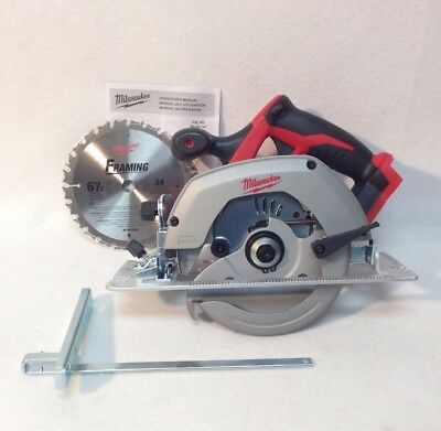 Milwaukee 2630-20 New M18 18V 18-Volt  Cordless 6-1/2-Inch Circular Saw