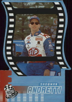 2000 Press Pass Showman Die Cuts #SM9 John Andretti