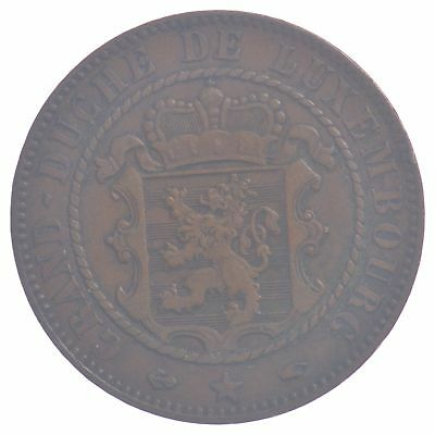 1860-A Luxembourg 10 Centimes *687