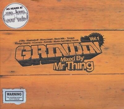Grindin' Vol 1: Mixed By Mr Thing – Cd + Dvd Set, Scratch Perverts, Dj,