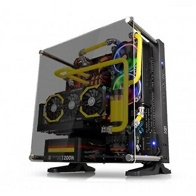 Thermaltake Core P3 Tempered Glass BLACK Edition Open Frame ATX PC Case