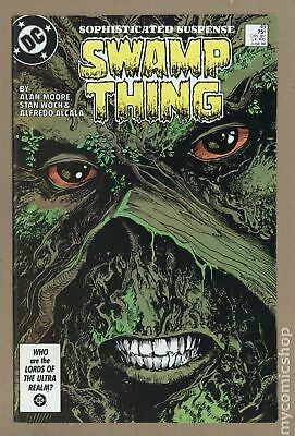 Swamp Thing (2nd Series) #49 1986 VF- 7.5
