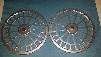 Lot 2 Aesculap Paper Filter Retention Plates For Sterilization Tray Container Or