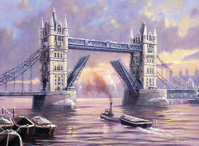 MALEN NACH ZAHLEN ~ Tower Bridge - London ~ Mal-Set - MnZ - PAL31 Royal