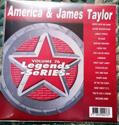 Legends Karaoke Cdg America & James Taylor Oldies Pop Folk #76 16 Songs Cd+G