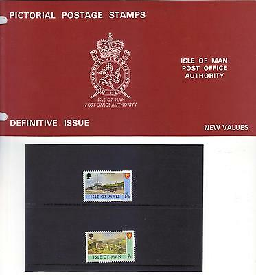 Isle of Man Presentation Pack DEFINITIVE ISSUE 1975