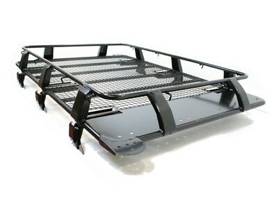 Land Rover Discovery 3 & 4 Troop2 Expedition Heavy Duty Roof Rack Black Steel