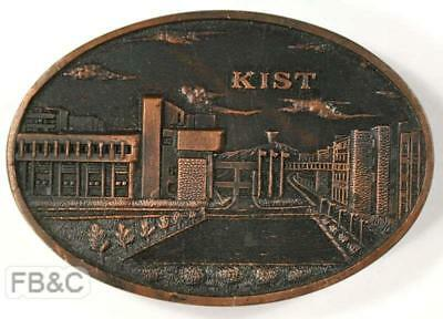 1976 Korea Institute of Science & Technology KIST 10th Anniversary Medal