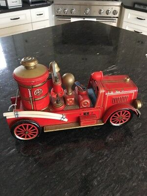 Vintage Old Tin Firetruck Made in Japan