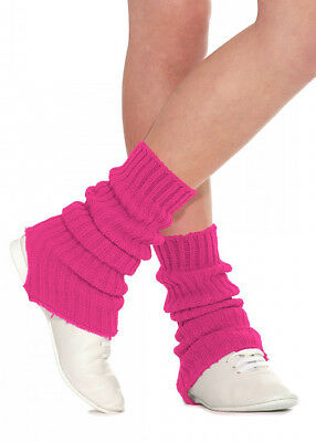 Raspberry Pink Stirrup Dance Leg Warmers 60cm