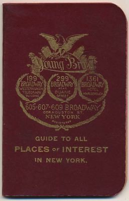 Places of Interest in New York - Young's Hats, New York City 1895