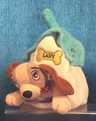 Disney Store Lady & The Tramp Lady In Kennel Soft / Plush Toy