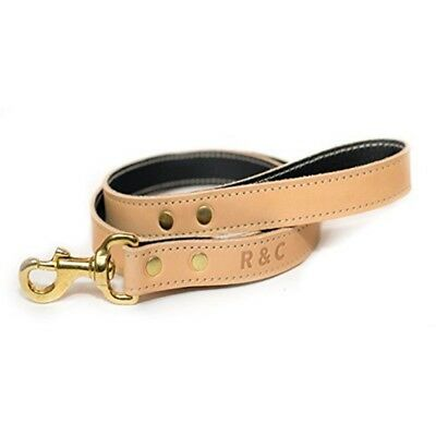 Ralph & Co Dog Lead Leather Verona Oyster x Standard - Size Thin