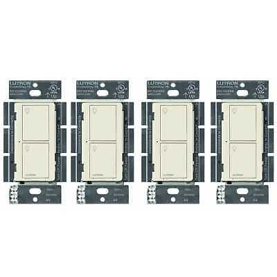 Lutron Caseta Wireless Smart Lighting Switch for Lights and Fans (4 pack)