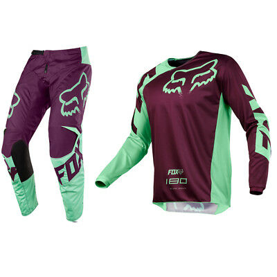 Fox Racing 180 Motocross Mx Kit Pants Jersey - Race Green