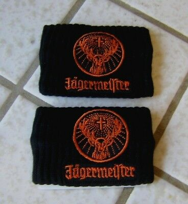 Jagermeister Sweat Bands ~ NEW ~ LOOK!