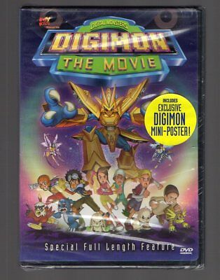 Digimon The Movie Rare Dvd Anime Brand New & Authentic Region 1 (Beware Of Fakes