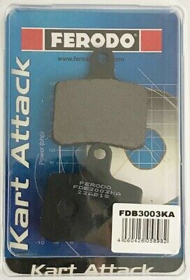 Ferodo Kart Attack Brake Pads Tonykart 2017 - Onwards Go Kart