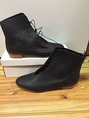 High Country, Size 9.5W WOMENS Clogging Tap Dance boots, Shoes, (no Taps) Black