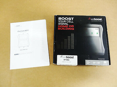WeBoost Connect 4G-X Cell Cellular Phone 3G 4G LTE Signal Booster 471004 Wilson