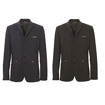 Mark Todd Italian Collection - Edward Mens Competition Jacket (black) (34) -