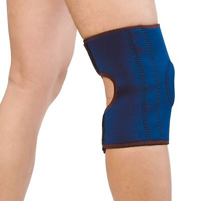 Magnetic Adjustable Knee Support Black Neoprene Arthritis Strap Brace Gym Sport