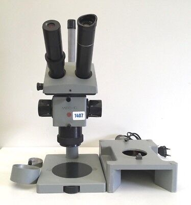 MBC Stereo Microscope -10 with Light + Lots of Accessories Approved