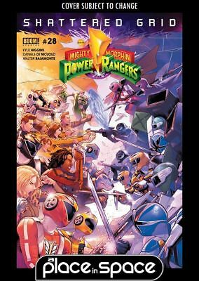 Mighty Morphin Power Rangers (Boom! Studios) #28A (Wk25)