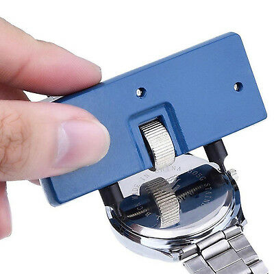 Adjustable Watch Opener Back Case Press Closer Remover Wrench Screw Repair Tools