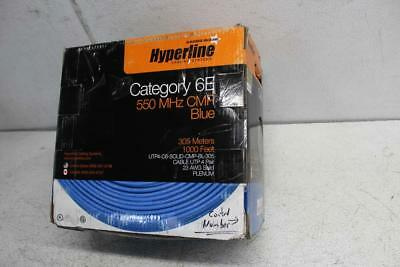 1000ft Catagory 6E Wire ( 161150736) 550 MHZ,