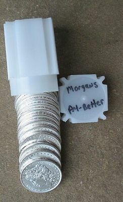 Roll (20 Coins)  Pre 1921 Mixed Date  Morgan Silver Dollars ..au/better