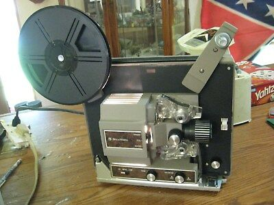 Bell and Howell Super 8 mm Autoload Movie Film Projector Model 357B  FAST SHIP