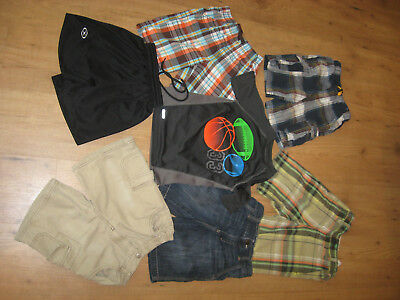 Boys, 6 shorts, T-shirt size  5/6T  Lot of 7 ( Old Navy ,EUC)