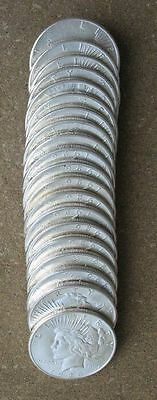 Original Roll 1926-S Peace Silver Dollars.. Ch/gem Bu