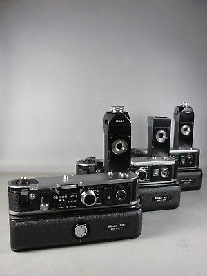 Nikon MD-2/MB-1 **PARTS**3 WINDERS** Power Winders for F2